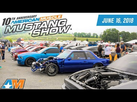 2018 AmericanMuscle Mustang Show Announced - World's Largest One Day Mustang Show AM2018