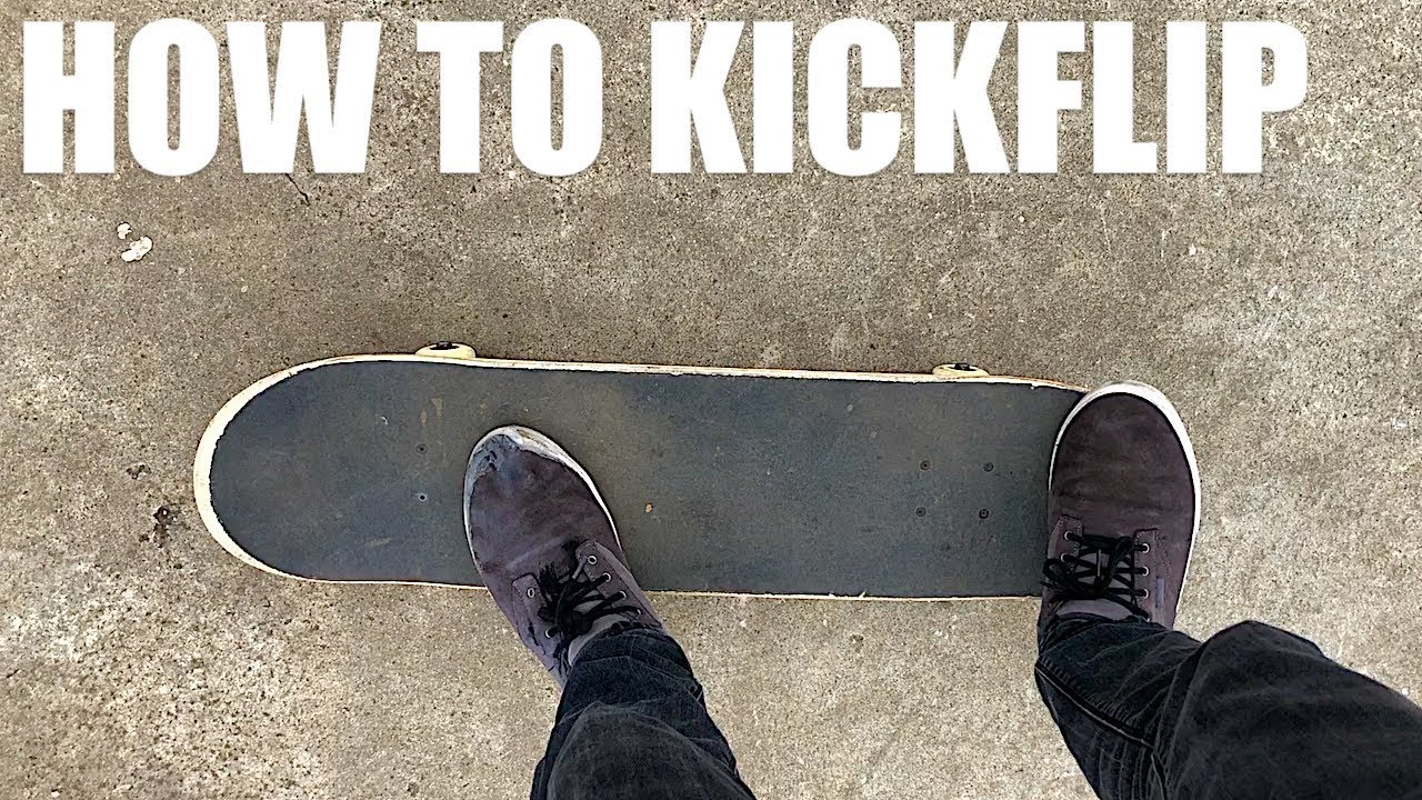 How to Kickflip the EASIEST Way on a Skateboard Tutorial