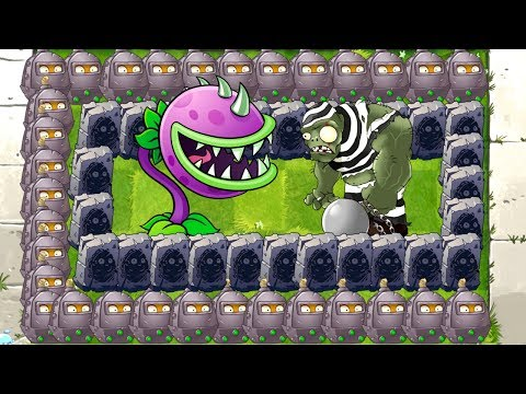 Mini Gargantuar vs Monster Chomper Max Level in Plants vs Zombies 2 Mod Challenge