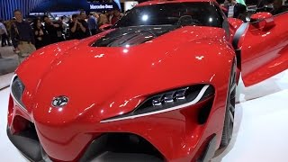Jaw Dropping Concept Cars - International Auto Show 2015, Toronto