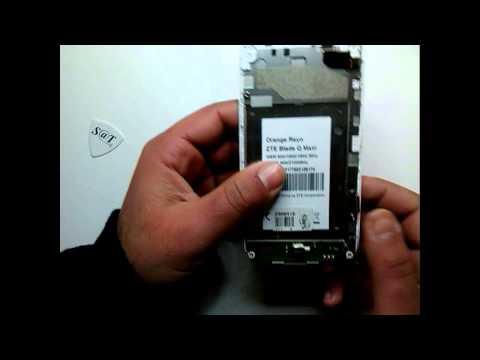 Cambio de Pantalla Display + LCD ZTE BLADE Q MAXI / ORANGE REYO - PARTE 1