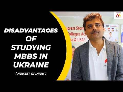 Disadvantages of Studying MBBS in Ukraine 2020 | MBBS in Ukraine | Honest Opinion | MOKSH MBBS 2020
