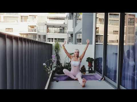 JogaYoga Урок N'4 Тренировка для укрепления мышц спины. Back Muscle Exercise. Lesson N'4.