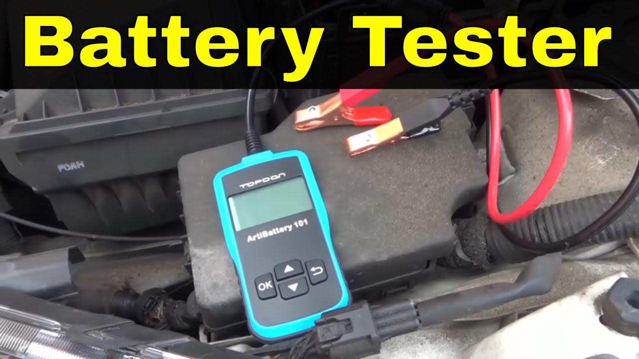 Tt Topdon Artibattery 101 Review Car Battery Tester