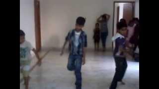 KIDS ON RADHA ON THE DANCE FLOOR, BOYS ON BOOM BOOM AND DISCO DIWANE..
