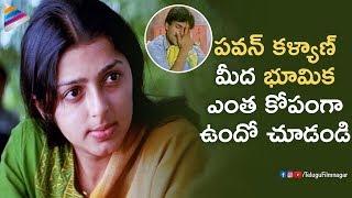 Pawan Kalyan Makes Bhumika Angry | Kushi Telugu Movie | Mani Sharma | Ali | Telugu FilmNagar