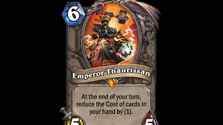 Emperor Thaurissan - Hearthstone Text / Message / Alert Tones (Links in Description)