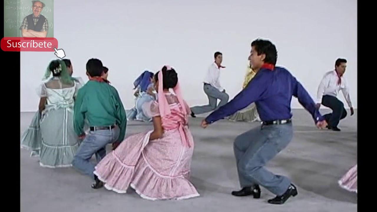 El conejo (Con pasos básicos) Baile folcklorico de Baja California Sur,  México. - YouTube