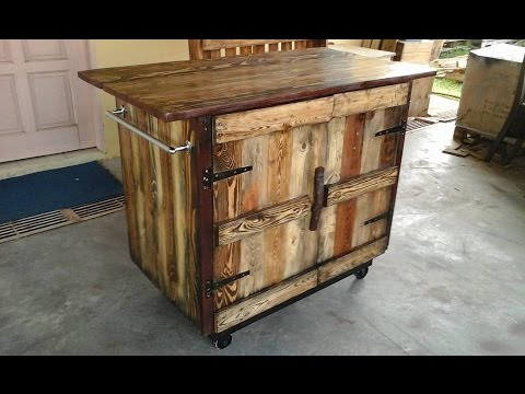 DIY Pallet Kitchen Island Ideas - YouTube