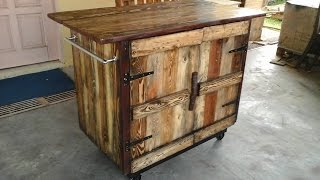 DIY Pallet Kitchen Island Ideas