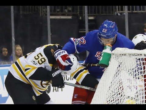 Boston Bruins vs New York Rangers - November 8, 2017 | Game Highlights | NHL 2017/18