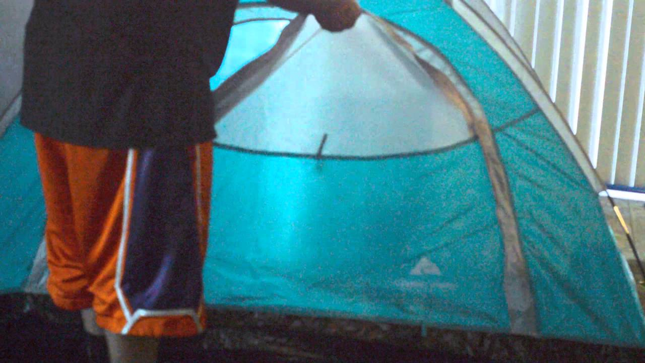 Ozark Trail kidu0027s 2 person tent & Ozark Trail kidu0027s 2 person tent - YouTube