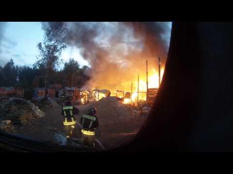 Пожарный клип глазами водителя (ZUEVAUTO)