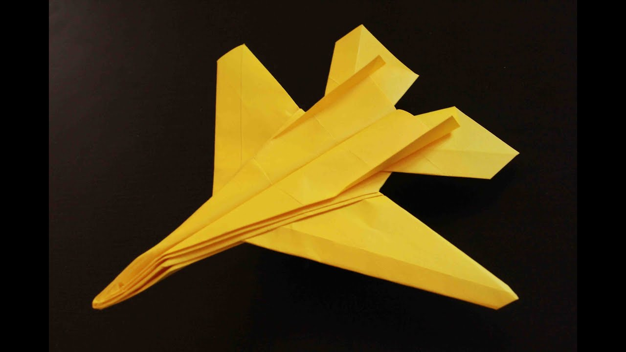 Cool Paper Plane Diagram Double Duplex Outlet Wiring Origami F 14 Tomcat Instructions