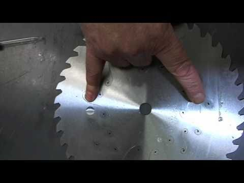 Saw Blades, Testing Steel for Brazing