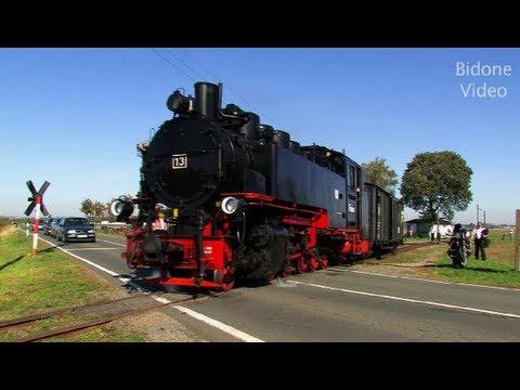 Dampflok: 20 Jahre Mansfelder Bergwerksbahn 2/3 - Train - Zug