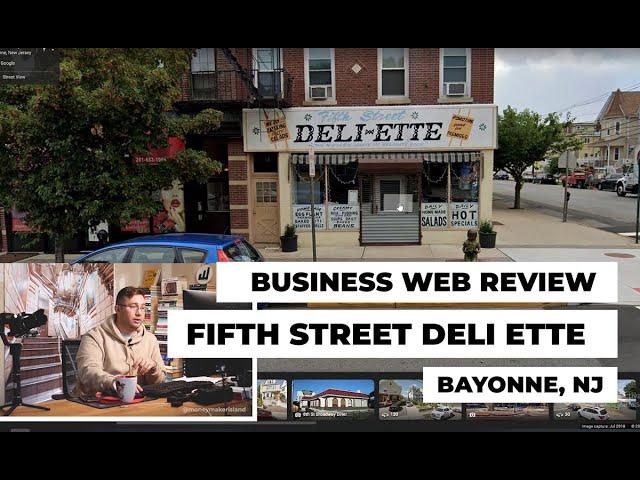 Bayonne Business Web Review: Fifth Street Deli Ette