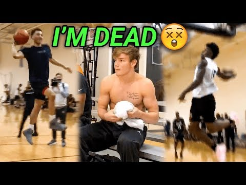 Mac McClung, JQ & Kevin Porter Got LIVE At The Allen Iverson Combine! EPIC SCRIMMAGE HIGHLIGHTS 😱