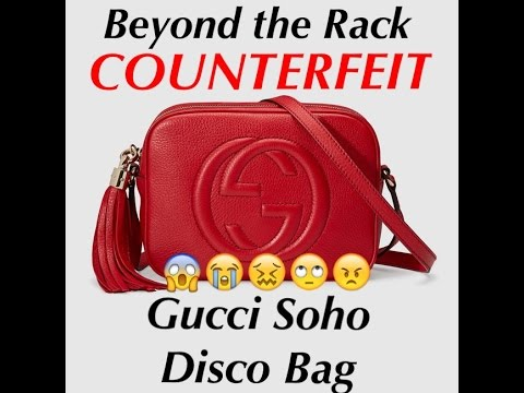 7369d16a7d6420 Gucci soho disco bag | Beyond the Rack | COUNTERFEIT - YouTube