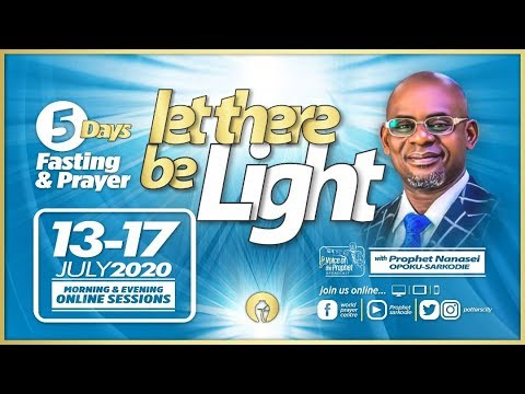 The Voice Of The Prophet Broadcast || Day 1|| Evening Session || Potter's City || 13 - 07 -2020