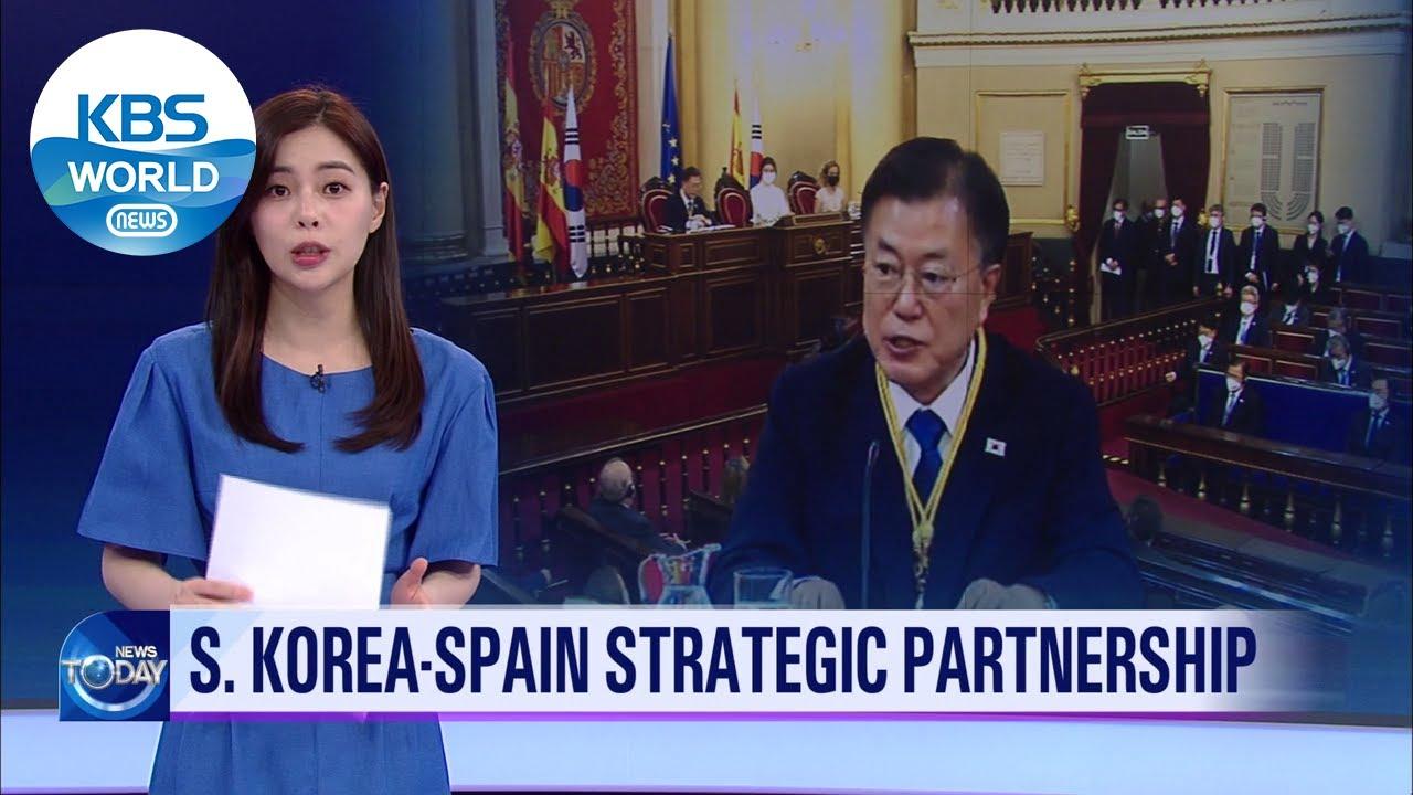 S.KOREA ・ SPAIN strategic partnership (News Today) l KBS WORLD TV 210617