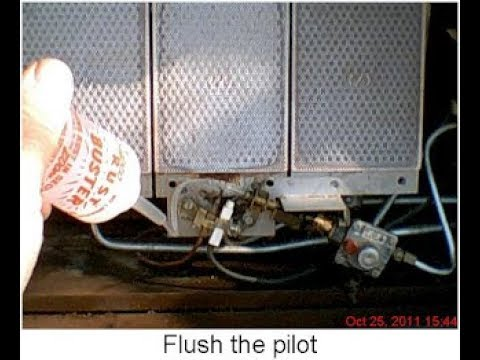 Gas Heater Works 5 Minutes and Quits, easy fix by Dan