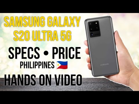Samsung Galaxy S20 Ultra 5G   Specs • Launch Date • Price   Hands-On Video