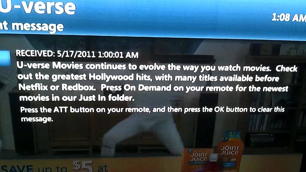 demand sucks on uverse