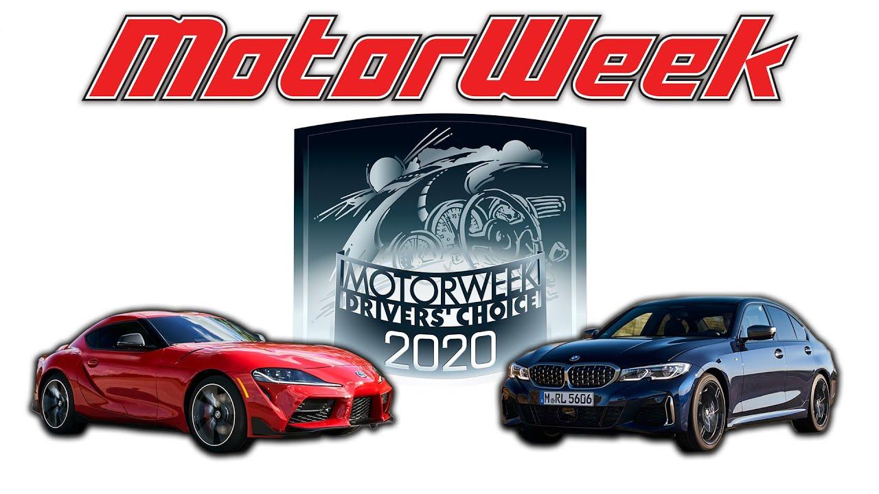 Ganadores del premio MotorWeek Drivers 'Choice 2020: automóviles + vídeo