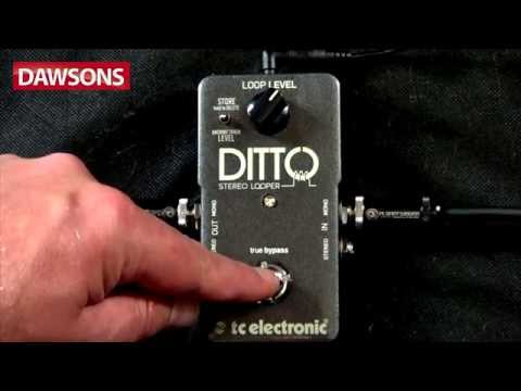 TC Electronic Ditto Stereo Looper Review