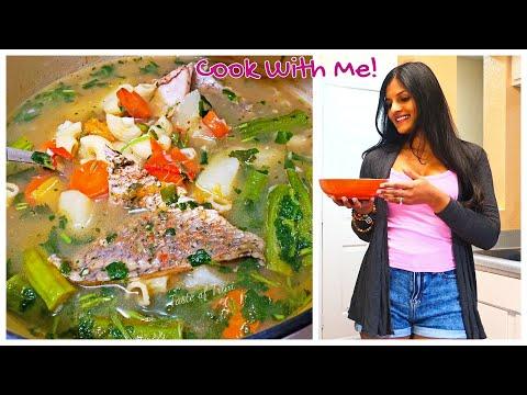 Trini FISH BROTH/Soup |