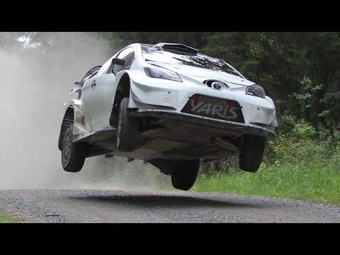 Esapekka Lappi / Toyota Yaris WRC / Test - Neste Rally Finland 2017
