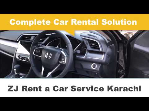 Rent a Car near Me - ZJ Rent a Car Karachi