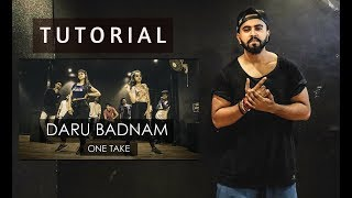 DARU BADNAAM | Dance Tutorial | Tejas Dhoke Choreography | DanceFit Live