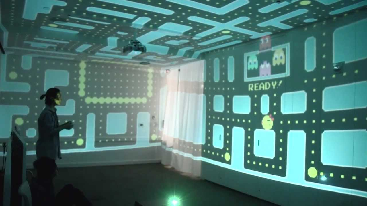 3d pac man at the babycastles summit youtube - Wallpapers voor kamer ...