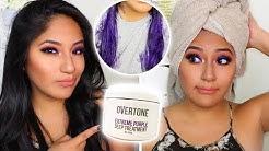 Does OVERTONE Work on Dark Hair?!