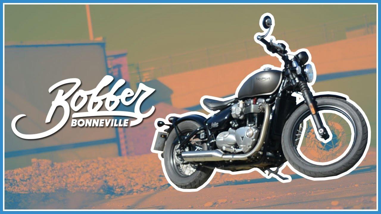 2017 Triumph Bonneville Bobber Ride Review Youtube