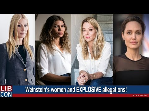 THE WEINSTEIN WOMEN - A-list stars and victims with INTENSE allegations