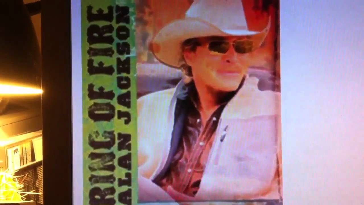 Ring of Fire by Alan Jackson - YouTube