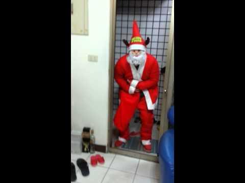聖誕快樂,聖誕老公公送禮物給漂漂