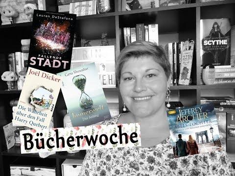 Bücherwoche #17 ~ Dystopien Highlight + Flop, Jeffrey Archer, Neue Serie, Harry Quebert