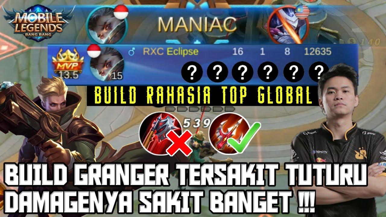 Download RAHASIA BUILD GRANGER TERSAKIT TUTURU TERBARU 2020 - Mobile Legends Indonesia