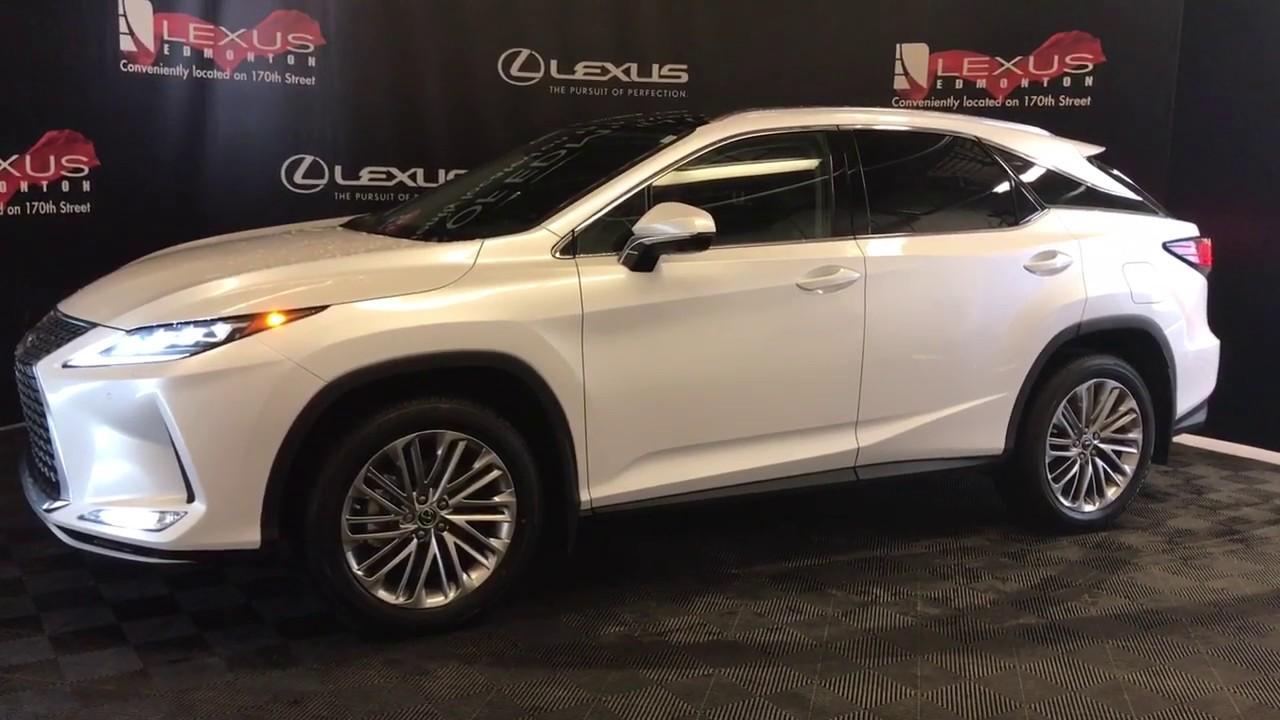 White 2020 Lexus RX 350 Executive Package Review Edmonton