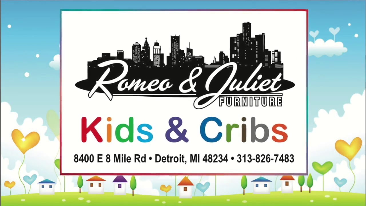 Kids Cribs From Romeo Juliet Furniture Youtube
