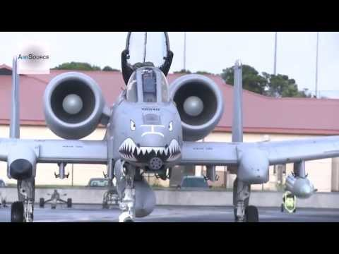 A-10 Warthog Arrive at Lajes Field