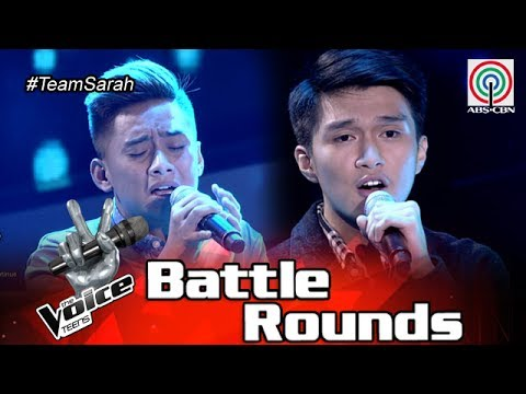 The Voice Teens Philippines Battle Round: Archie vs. Bryan - Heaven Knows