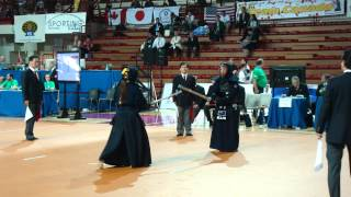 D. Cascales (White) VS A. Yamaguchi (Red) 15 WKC Novara Women Individuals
