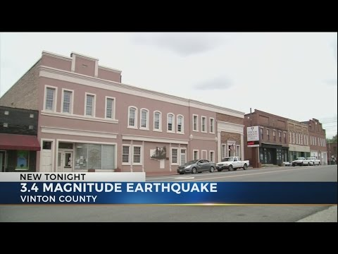 Earthquake reported in southeast Ohio Wednesday