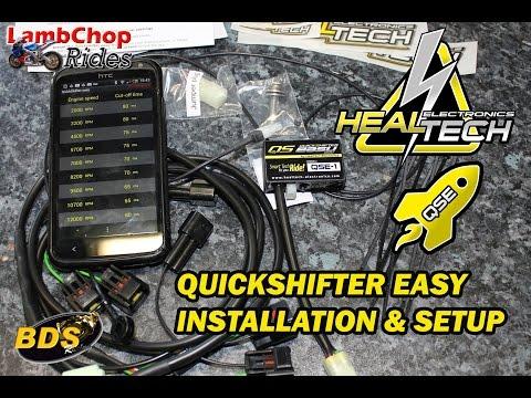HealTech QuickShifter Easy Install & Setup
