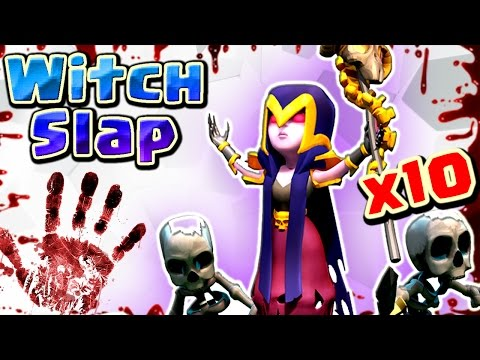 Witch Slap/ Walk (New) : 10 WITCHES TH9 BEST 3 STAR WAR ATTACK STRATEGY 2017 (Easy) | Clash of clans